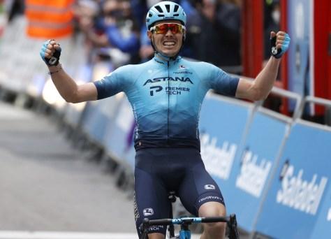 Alex Aranburu dá a Astana a primeira vitória nesta temporada no Tour of the Basque Country