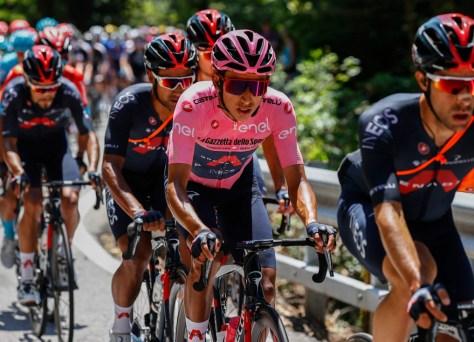 Egan Bernal falhou novamente no Giro, mas ainda é o vencedor do dia após um passeio de montanha (assim como seu tenente na INEOS)