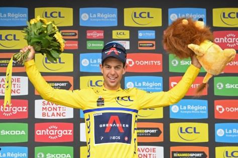 """O vencedor da final, Richie Porte, e o renascido Mark Padun torcem em Dauphiné: """"Como se eu tivesse vencido o Tour"""""""
