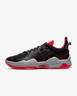 Nike PG 5 'Bred' .38 Free Shipping