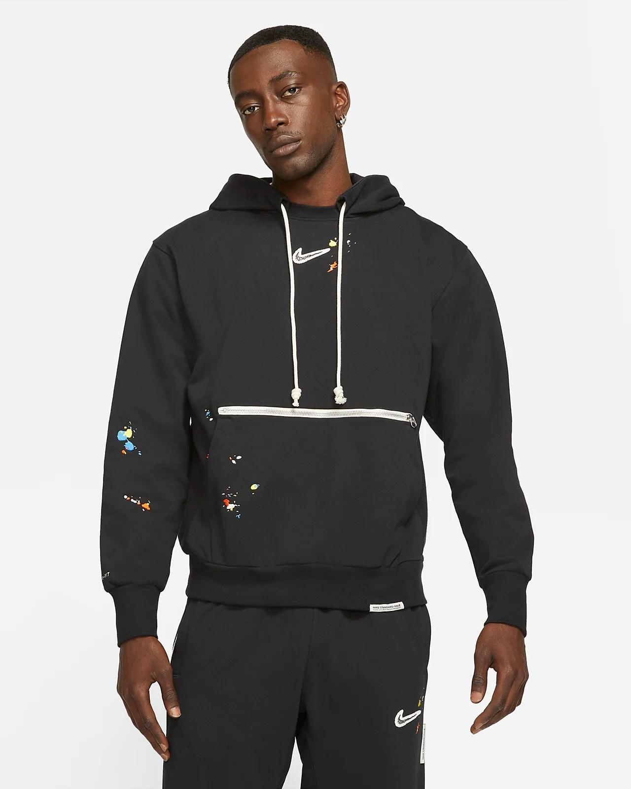 Nike Standard Issue Pullover Hoodie 'Splatter'