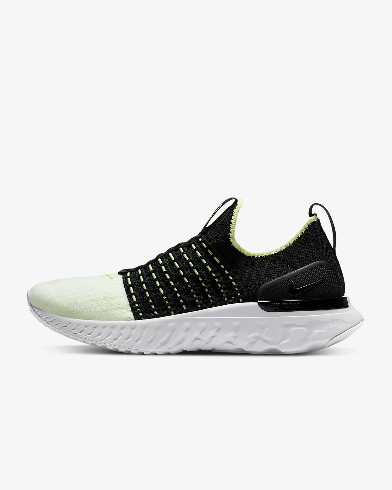 Nike React Phantom Run Flyknit 2 'Barely Volt / Black' .99 Free Shipping