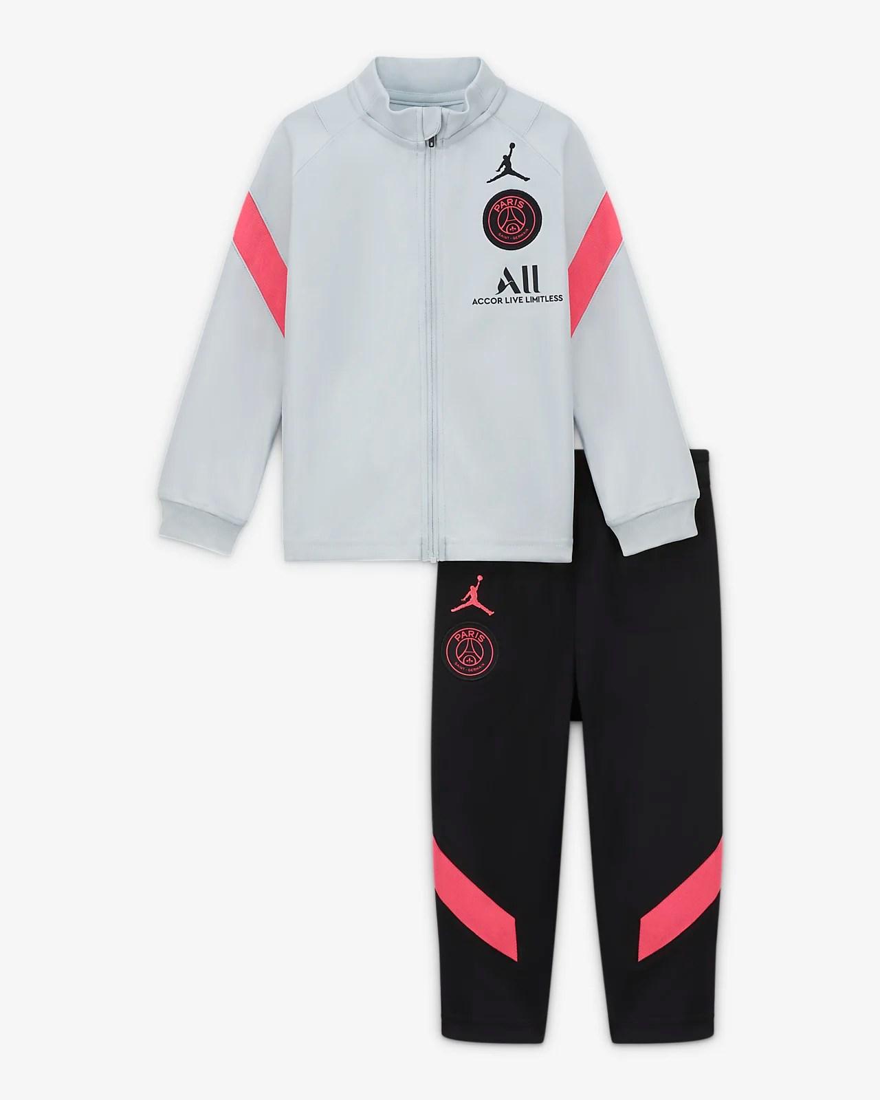 paris saint germain strike strick fussball trainingsanzug fur babys