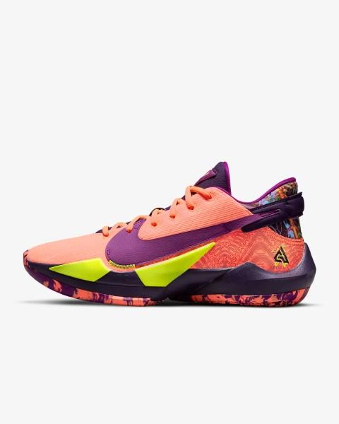 Nike Zoom Freak 2 'Bright Mango / Grand Purple' 8.97 Free Shipping