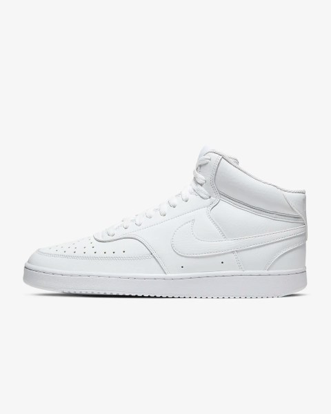 Nike Court Vision Mid 'White' .97 Free Shipping
