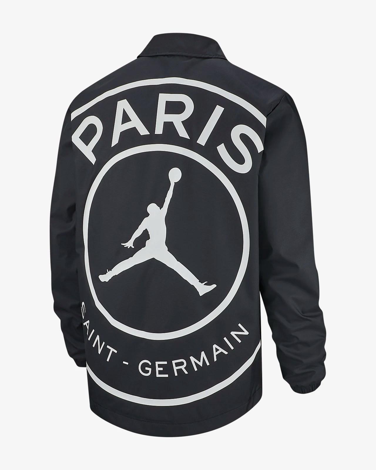 paris saint germain men s coach jacket