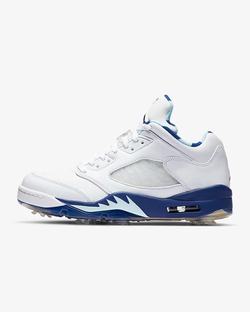 Release Reminder – Air Jordan 5 Low Golf 'Grape Ice'