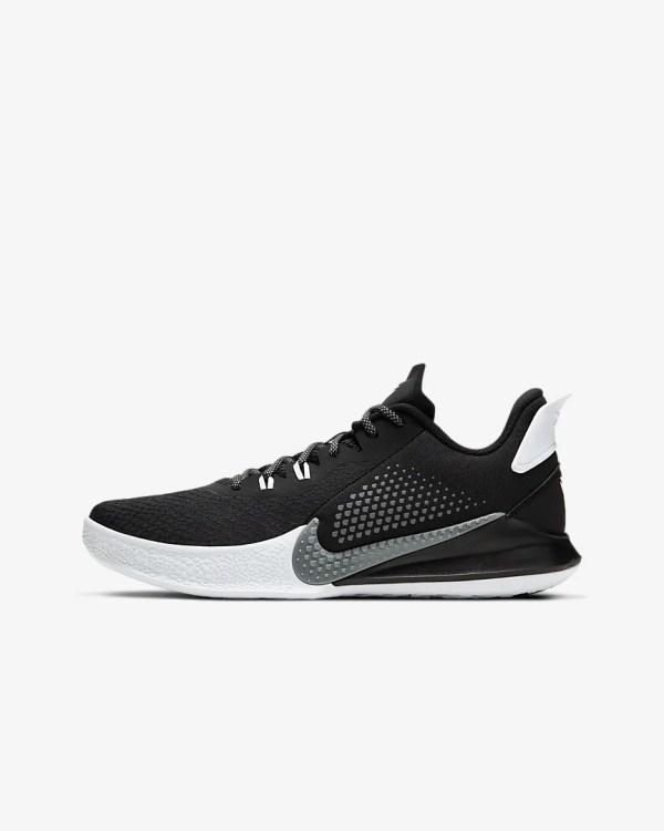 Nike Mamba Fury 'Black / White' .97 Free Shipping