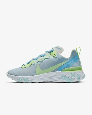 Women's Nike React Element 55 'Teal Tint' .97 Free Shipping
