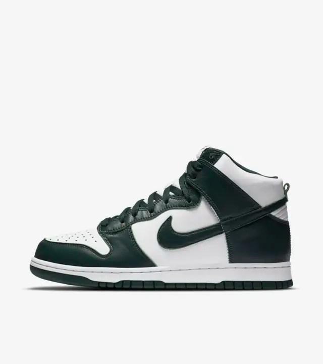 Release Reminder – Nike Dunk High SP 'Spartan Green'
