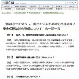 (内閣官房HPから)