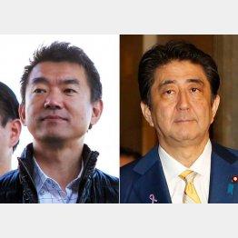 「安倍首相とは考えが合う」とヨイショ(C)日刊ゲンダイ