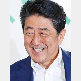 この満面の笑み(C)日刊ゲンダイ