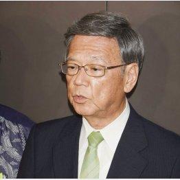 判決後、怒りをにじませた翁長知事(C)日刊ゲンダイ