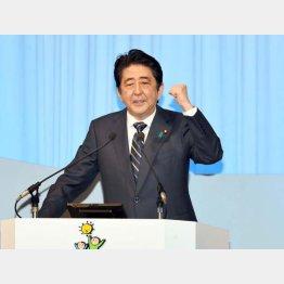 安倍首相は「働き方改革」について連日気勢を上げる(C)日刊ゲンダイ