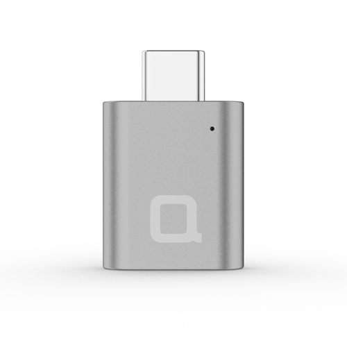 USB-C to USB-A Mini Adapter Space Gray