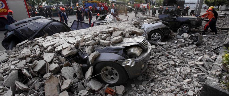 Supertufão deixa 100 mortos nas Filipinas