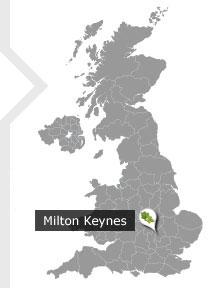 Image result for milton keynes map
