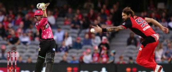 Big Bash League: Sydney Sixers v Melbourne Renegades Tips & Odds