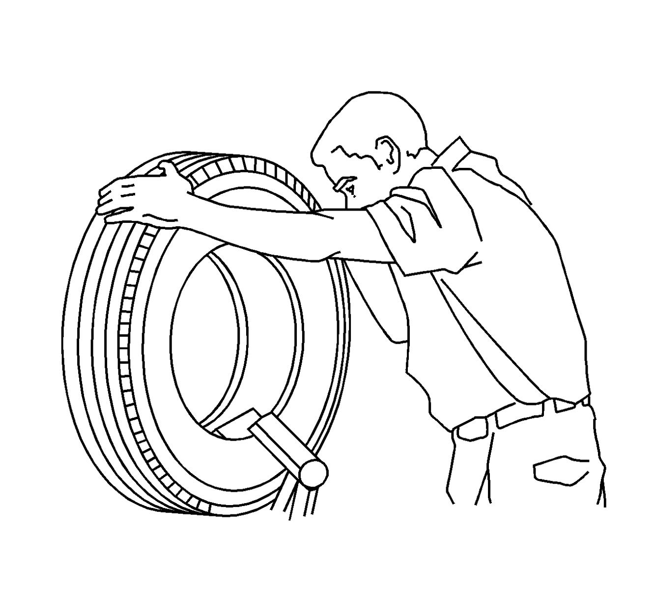 Tire Puncture Repair Procedures And Prior Gm