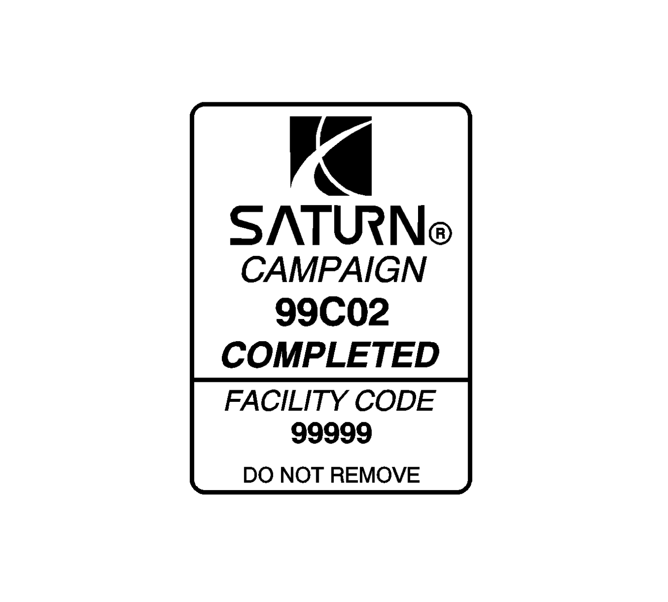 Safety Recall 99 C 02 Verification Of Proper