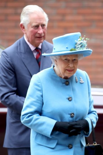 The Queen & Prince Of Wales Visit The Household Cavalry Mounted Regiment