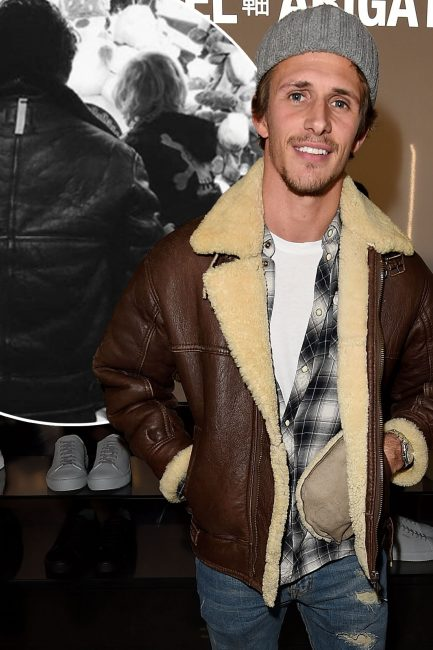 Towie Star Jake Hall Spends Time With Girlfriend Misse Beqiris Son