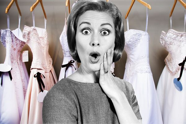 The Average Cost Of A Wedding Gown