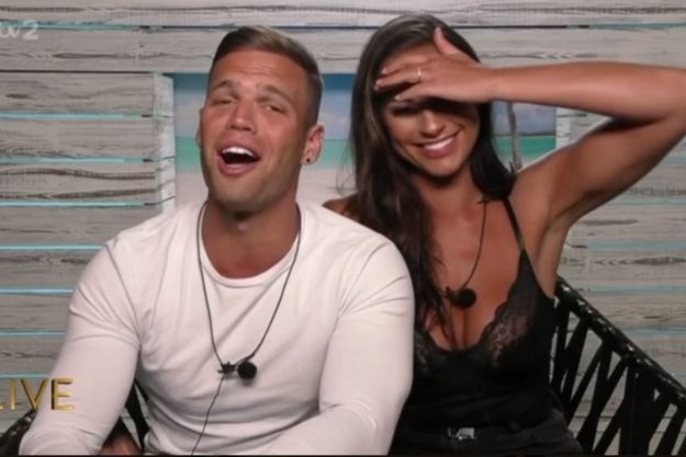 Love Island Aftersun: Caroline Flack was talking to Dom Lever and Jessica Shears