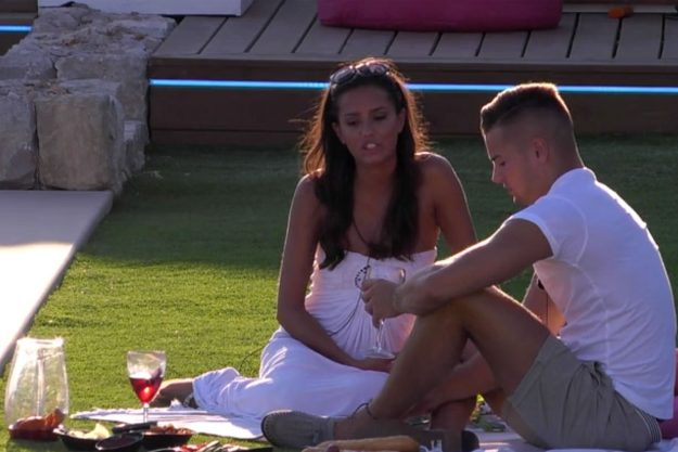 Love Island: Tyla Carr accused of wearing a wedding dress during dates
