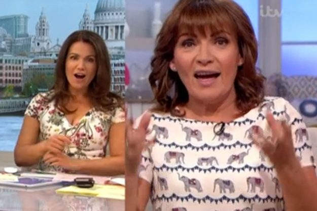 Piers Morgan exposes Lorraine Kelly's X-rated behaviour on Good Morning Britain: