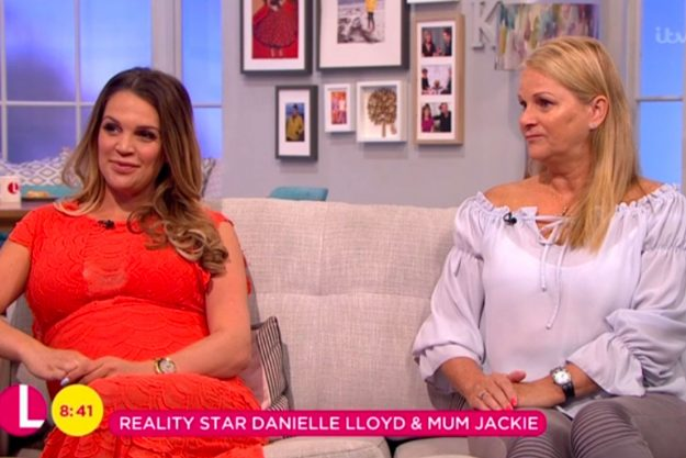 Danielle Lloyd's mum Jackie breaks down in tears own Lorraine as she opens up about life-changing invisible illness