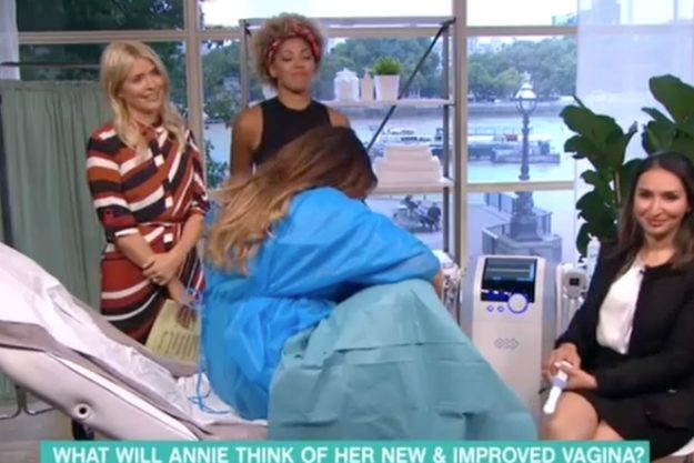 This Morning: Woman checks out her vagina live on air after having designer vagina procedure