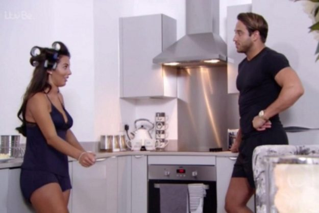 James Locke and Yazmin Ouckhellou were discussing housework when the brunette beauty made the controversial comments