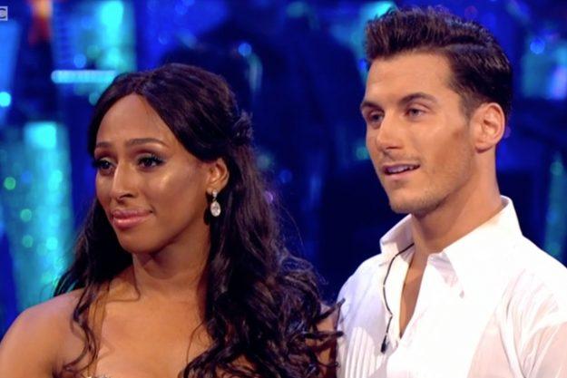 Strictly Come Dancing: Alexandra Burke and dance partner Gorka Márquez