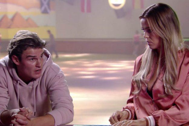 The Only Way Is Essex: The star was seen making a bizarre plea to boyfriend Taylor Barnett