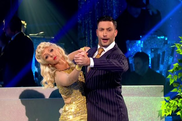 Debbie McGee and Giovanni Pernice perform for the judges on 'Strictly Come Dancing'. Broadcast on BBC One Featuring: Debbie McGee, Giovanni Pernice When: 07 Oct 2017 Credit: Supplied by WENN **WENN does not claim any ownership including but not limited to Copyright, License in attached material. Fees charged by WENN are for WENN's services only, do not, nor are they intended to, convey to the user any ownership of Copyright, License in material. By publishing this material you expressly agree