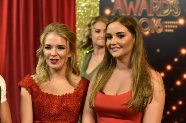 2016 British Soap Awards held at Hackney Town Hall - Arrivals    Featuring: Jacqueline Jossa, Lorna Fitzgerald  Where: London, United Kingdom  When: 28 May 2016  Credit: Daniel Deme/WENN.com