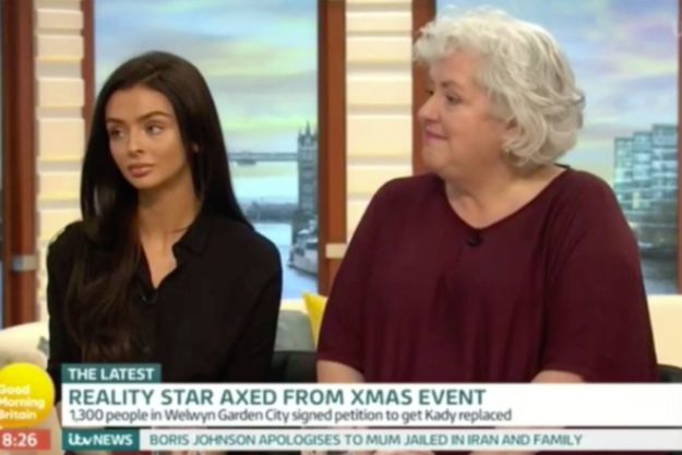 Kady McDermott on Good Morning Britain