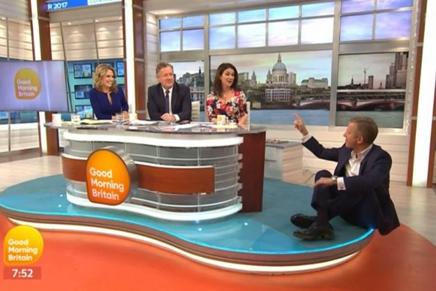 Good Morning Britain: Jeremy demanded TV host Piers 'respect women more'