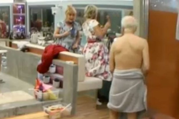 Celebrity Big Brother: Amanda Barrie and Maggie Oliver jokingly asked Wayne Sleep to flash again
