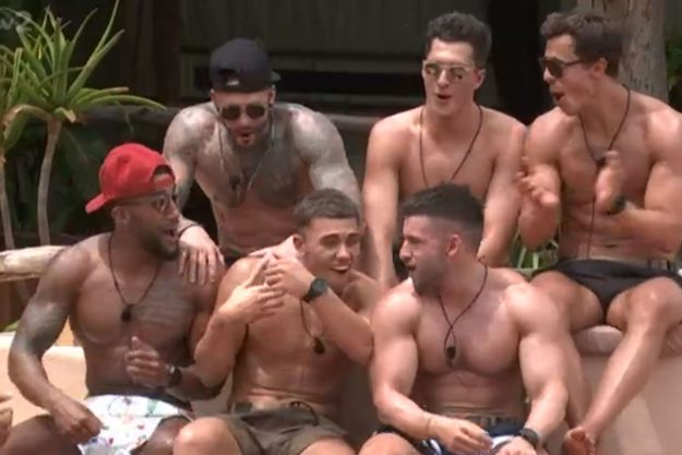 Survival Of The Fittest: The boys won the latest challenge