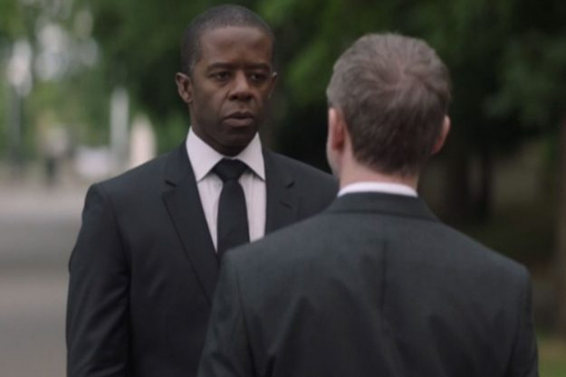 Trauma ITV: Viewers are convinced Jon Allerton, played by cast member Adrian Lester, is guilty in the death of Alex Bowker