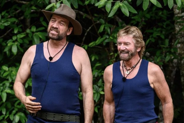 Noel Edmonds and Nick Knowles have reported they are not agreeing on evolution