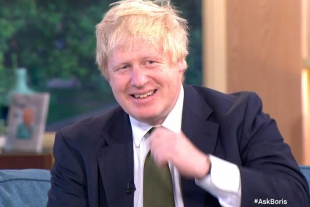 Boris Johnson laughed off the banana debate during the This Morning chat
