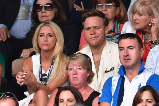 Olly Murs dated Francesca Thomas for three years