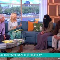 This Morning viewers blast 'disrespectful' guest as he 'belittles' opposing female debater during LIVE 'should Britain ban the burka' debate
