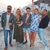 TOWIE's Lydia Bright and Joey Essex join Geordie Shore's Holly Hagan and Made In Chelsea's Spencer Matthews for WILD night out in Greece