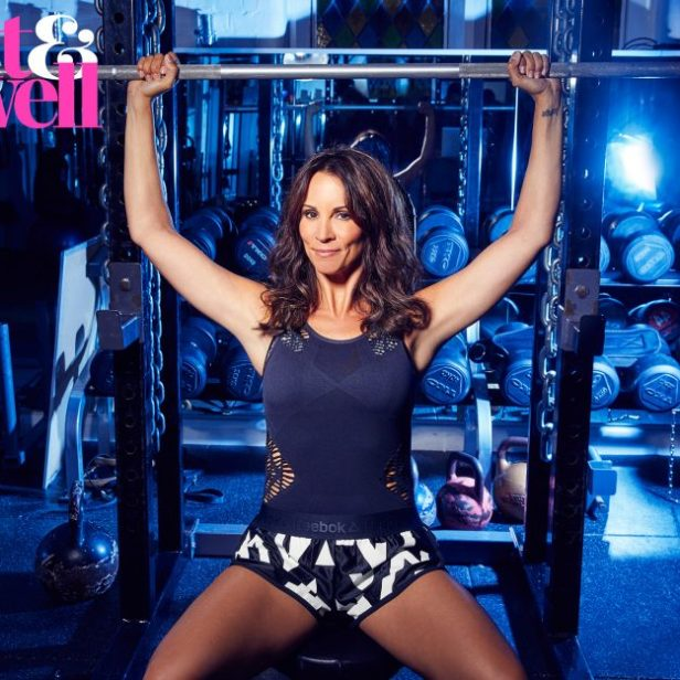 Andrea McLean said she is getting her fitness back on track