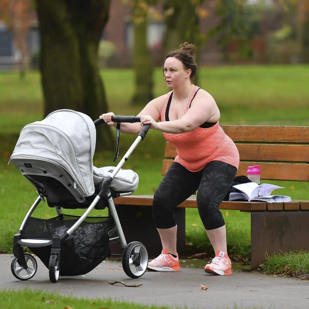 Chanelle Hayes recently had a baby